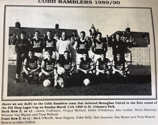 ALT Cobh Ramblers Roy Keane